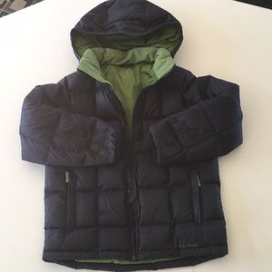 Boys LL Bean winter jacket